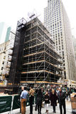 Rockefeller mittChristmans träd Manhattan New York NY Arkivfoto