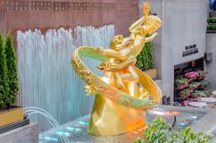 Rockefeller-Mitte, New York Stockbild