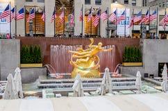 Rockefeller-Mitte, New York Lizenzfreie Stockfotos