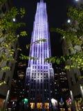 Rockefeller New York City Fotografía de archivo
