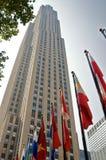 Rockefeller New York City concentrare fotografia stock libera da diritti