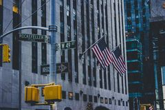Rockefeller Royalty Free Stock Photography