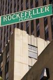 Rockefeller-Piazza Stockbild