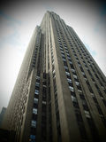 Rockefeller plaza Royalty Free Stock Photography