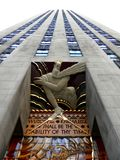 Rockefeller Plaza στοκ εικόνα