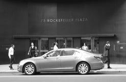 Rockefeller Plaza arkivbild