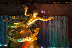 Rockefeller Prometheus. Took on the front of the Rockefeller Center in NYC Stock Image