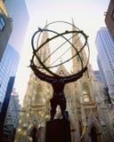 Rockefeller Square Stock Photo