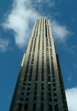 Rockefeller Tower New York City Royalty Free Stock Photography
