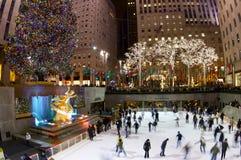 Rockefellercentrum Stock Afbeeldingen