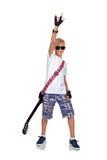 Rocker αγόρι Στοκ Φωτογραφίες