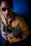 Rocker with attitude Stock Images