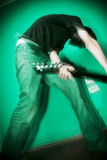 Rocker Boy Royalty Free Stock Photos