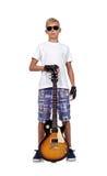 Rocker boy Royalty Free Stock Image