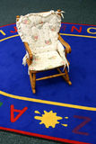 Rocker chair. Child rocker chair in a classroom Stock Images