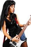 Rocker chick Stock Photography