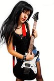 Rocker chick Royalty Free Stock Photo