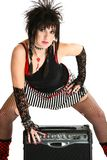 Rocker Chick Stock Image