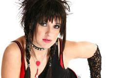 Rocker Chick Royalty Free Stock Images