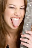 Rocker Chick Stock Photo