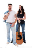 Rocker Couple Royalty Free Stock Photography