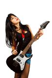 Rocker girl Royalty Free Stock Images