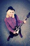Rocker girl Royalty Free Stock Photo