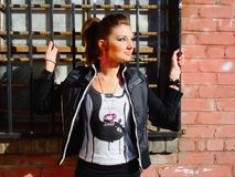 Rocker Girl Royalty Free Stock Images