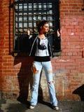 Rocker Girl Stock Images
