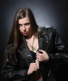 Rocker girl Royalty Free Stock Photography