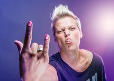 Rocker girl Stock Image