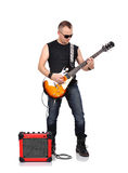 Rocker man Royalty Free Stock Photography
