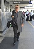 Rocker Rod Stewart is seen at LAX Royalty Free Stock Photography