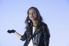 Rocker's style girl Royalty Free Stock Photography