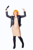 Rocker singer Royalty Free Stock Photo