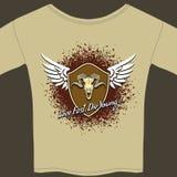 Rocker tee shirt Stock Images