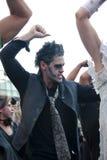 Rocker zombie Stock Images