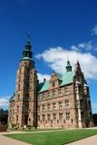 rockera copenhagen denmark rosenborg Byggt i den holländska Renaen royaltyfri bild