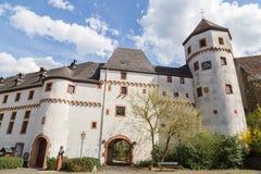 Rockera von der Leyen Kobern-Gondorf på Mosellen Royaltyfria Bilder