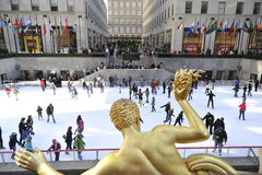 Rockerfeller center in new York city Stock Image