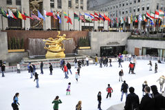 Rockerfeller center in new York city Stock Photo