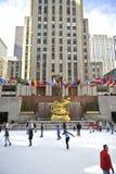 rockerfeller york разбивочного города новое стоковые фотографии rf