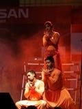Rockers τζαζ η ομάδα από το Ντουμπάι αποδίδει στο Μπαχρέιν Στοκ εικόνα με δικαίωμα ελεύθερης χρήσης