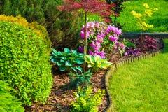 Rockery Garden Royalty Free Stock Photography