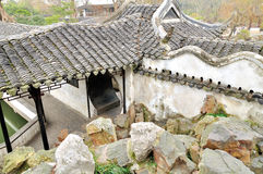 Rockery in Humble Administrator's Garden. Humble Administrator's Garden is the representative works of Chinese Jiangnan classical garden.In 1997 was approved by stock photo