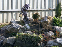 Rockery, rock garden, alpine garden Royalty Free Stock Images