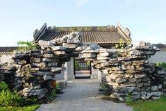 rockery starożytnym ogrodu Zdjęcie Stock