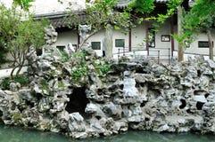 Rockery stone Stock Photo