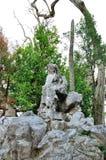 Rockery stone Stock Images