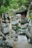 Rockery stone Stock Image